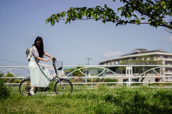 Polka-Skirt-Bike-Ride