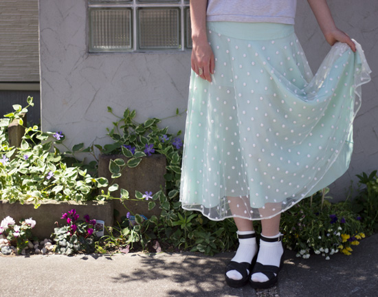 Whimsical-Polka-Skirt