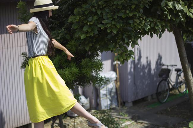 DIY-Midi-Skirt