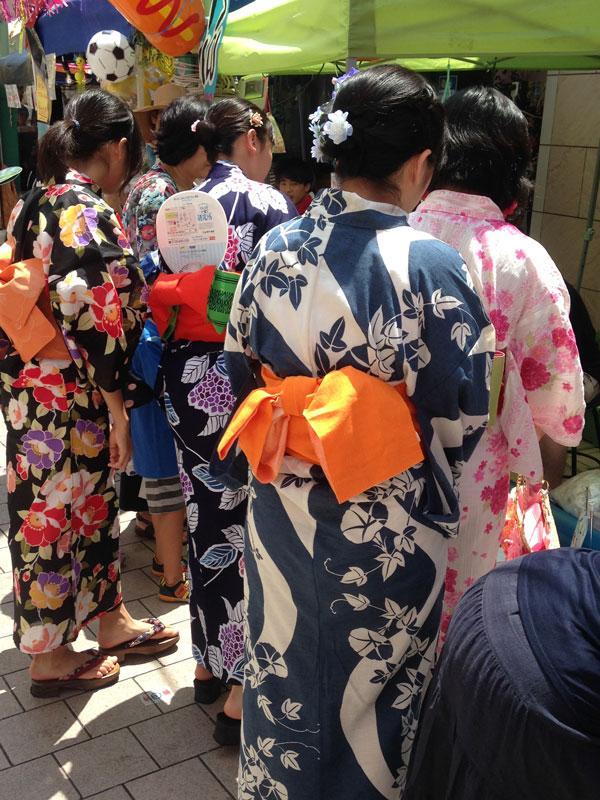 Girls-in-Yukata