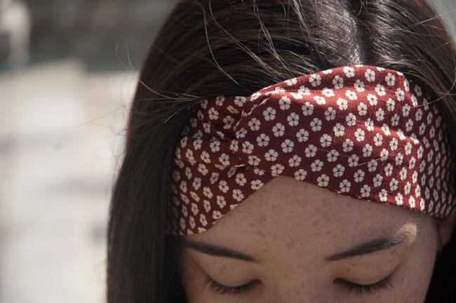 DIY-Japanese-Headband-Red-Flower
