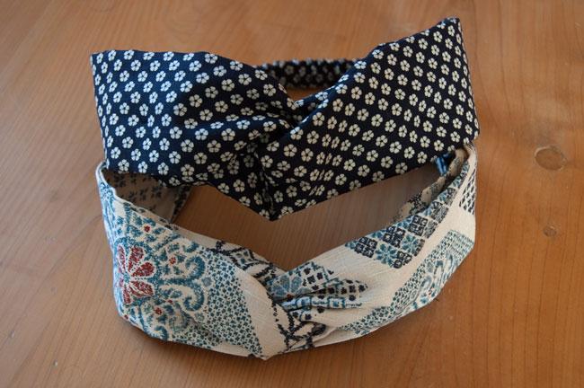 DIY-Japanese-Headbands-Blue
