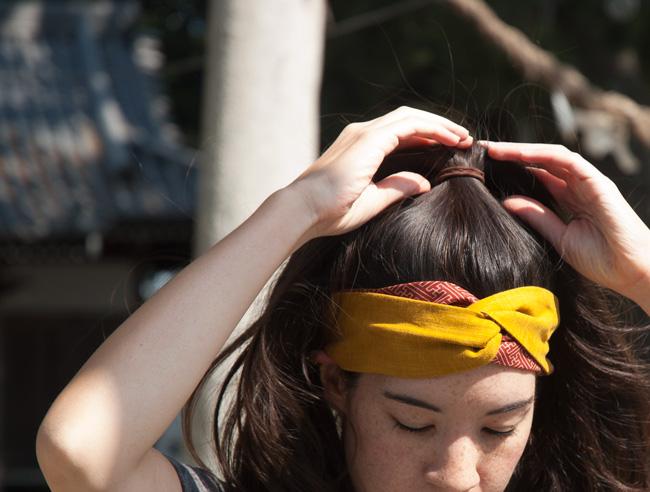 DIY-Japanese-Headbands-Tying-Hair-Up