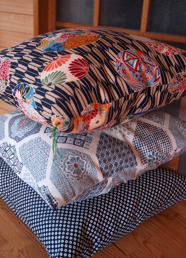 Japanese-Handmade-Cushions-Three-Stacked