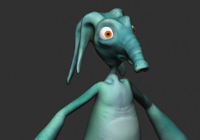 Gromer-Close-Up-3D-Model