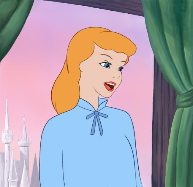 Cinderella-digital-painting