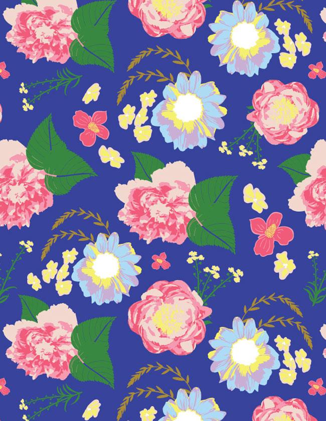 Blue-Pattern