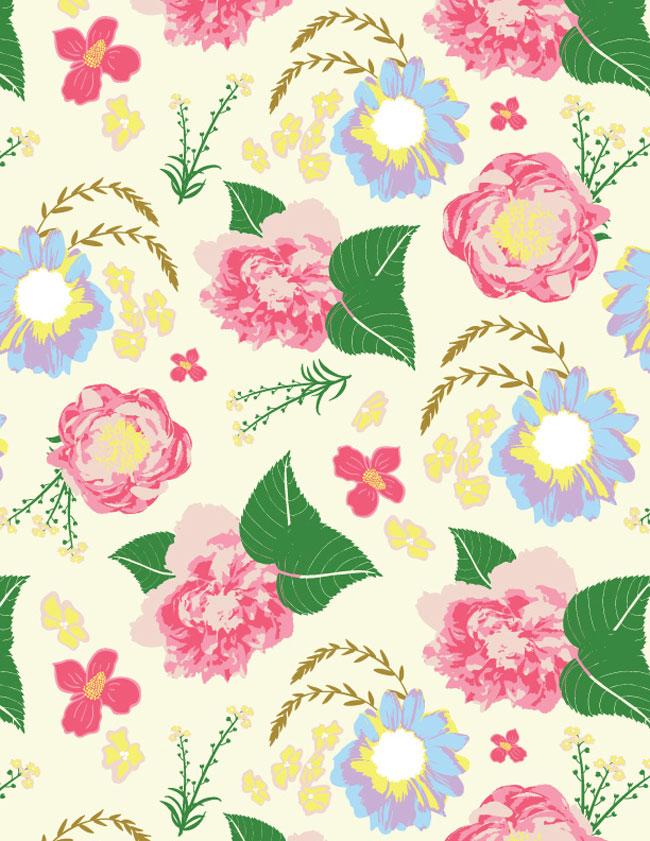 Cream-Pattern