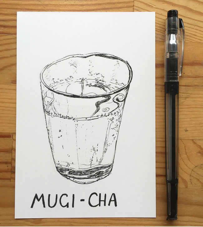 Day-1:28-Mugi-cha-pen-illustration