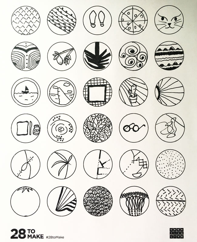 30-circles-pen-illustrations-ideas
