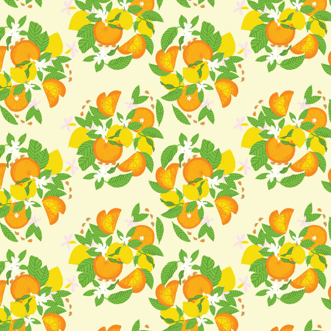 lemon-formation-cream-pattern-vector-illustrator