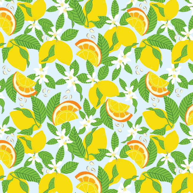 lemon-original-pattern-illustrator-vector